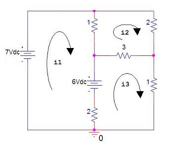 circuit analysis by solving linear equations with Matlab