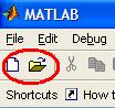 icons to create Matlab code