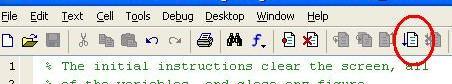 icon to run script
