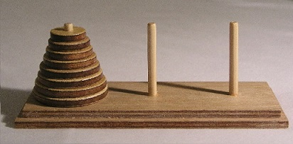 puzzle - towers of Hanoi