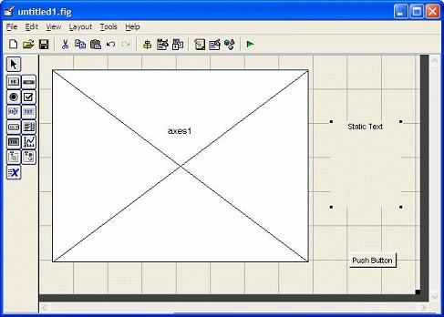 basic layout for our card trick in our Matlab GUI