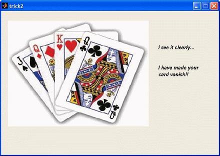 second step in magic trick