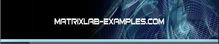 logo for matrixlab-examples.com